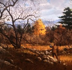 Grouse hunting painting by Brett J Smith. Hunting Painting, Hunting Art, Hunting Stuff, Duck Hunting, Hunting Dogs, Wildlife Paintings, Wildlife Art, Grouse Hunting, Pheasant Hunting