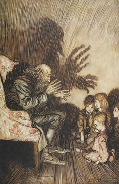 Arthur Rackham (1867 – 1939) ilustrador inglés.