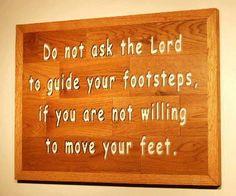 Move those feet!