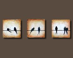 one painting with small canvases - Google Search