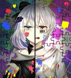 #mafumafu #mafu #まふまふ #utaite #歌い手 #illustrasion #jigsawpuzzle Sad Anime, Manga Anime, Anime Art, Fire Emblem, Otaku Issues, Hd Wallpaper 4k, Anime Wolf Girl, Anime Group, Natsume Yuujinchou