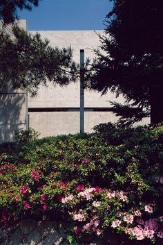 Tadao Ando 1995 Laureate, Church of the Light, Ibaraki, Osaka, Japan, 1989