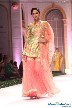 Gharara by Pallavi Jaikishan at Aamby Valley City India Bridal Fashion Week 2013