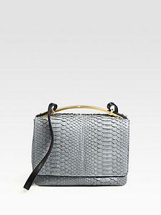 Marni Python Mini Shoulder Bag