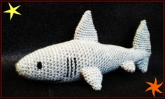 tiburón - shark - crochet - ganchillo - amigurumi