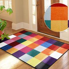 Tapis d'entrée casa pura® Adieu Tristesse | paillasson design en couleurs…