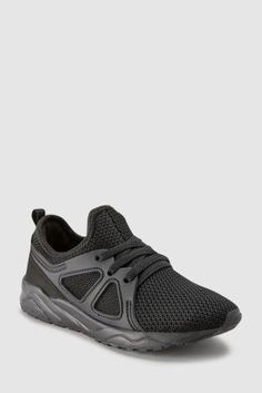 273f4a28f0a3a Black Runner Trainers (Older)