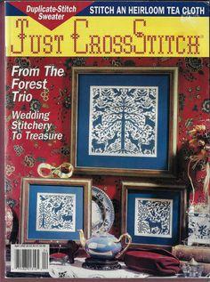 Cross Stitch Magazines, Cross Stitch Books, Just Cross Stitch, Ebay Auction, Rose Buds, Hope Chest, Pansies, Cross Stitch Embroidery, Christmas Ornaments