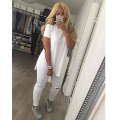 Material: Cotton,Polyester,Acetate Fabric Type: Broadcloth Sleeve Length: Short Decoration: None Clothing Length: Regular Pattern Type: Solid Collar: O-Neck Sleeve Style: Regular Style: Casual Item Type: Tops Tops Type: Tees Gender: Women Color: gray,white,black,pink feature: side split