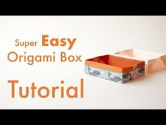 Introduction to the Self-Closing Origami Twist Box by Angel Ecija Blanco. This box uses the origami twist maneuver on the bottom and top of the box. Box Origami, Origami Box Tutorial, Cute Origami, Origami Envelope, Origami Ball, Fabric Origami, Origami Heart, Modular Origami, Origami Paper