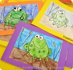 Frog Directed Drawing https://www.teacherspayteachers.com/Product/Spring-Directed-Drawing-Activities-688851