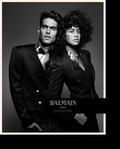 Luz Pavon & Jon Kortajarena Soar In Jean Baptiste Mondino Images For Balmain Hair Couture SS 2017 — Anne of Carversville  http://www.anneofcarversville.com/style-photos/2017/1/28/luz-pavon-jon-kortajarena-soar-in-jean-baptiste-mondino-images-for-balmain-hair-couture-ss-2017