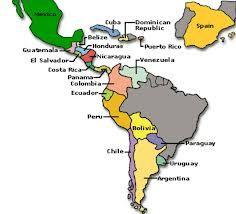 Spanish: Spanish Speaking Countries - Map Activity 1 … | Pinteres…