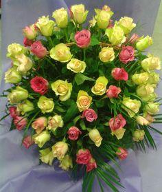 Žuto - roze kombinac