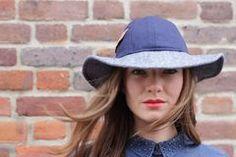 Winter LULU Indigo, Winter Hats, Label, Collection, Fashion, Moda, Indigo Dye, Fashion Styles, Fashion Illustrations