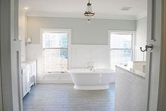 Master Bedroom Paint - Life On Virginia Street Sea Salt from Sherwin Williams