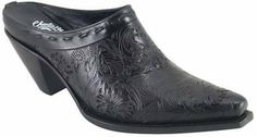 Womens Lucchese Since 1883 Embossed Tool Slide I6052