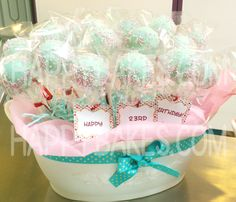 cake pop ideas | Cake pops bouquet