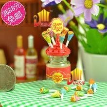 G05-X405 kinder baby geschenk Spielzeug 1:12 Puppenhaus mini Möbel Miniatur rement Lollipop + Zuckerdose(China (Mainland))