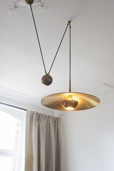Image via Edison Light Globes, Part Brassy & Classy Steampunk-Style Lamp Fixtures Image via Max Ingrand; Glass and Brass Table Lamp for Fontana Arte, Image via Table Interior Lighting, Home Lighting, Lighting Design, Club Lighting, Wall Lighting, Luxury Lighting, Unique Lighting, Lighting Ideas, Bathroom Lighting