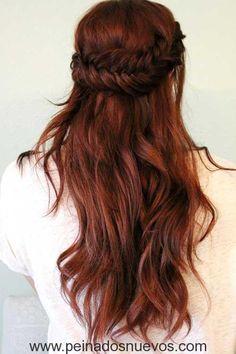 6.Peinado para Pelo Ondulado