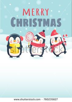Merry Christmas message. Merry Christmas with cute animals. Stock photography, images, pictures, Illustrations, ideas. Download vector illustrations and photos on Shutterstock, Istockphoto, Fotolia, Adobe, Dreamstime