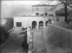 Villa Gros à Saint-Didier-au-Mont-d'Or / Tony Garnier / 1920-23 Tony Garnier, Lyon, Rationalism, Villa, Architecture, Saint, Cool Photos, French, City