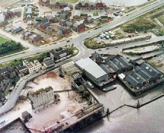 Pacific Wharf Rotherhithe in the 80's