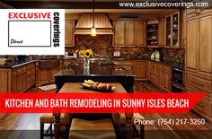 Kitchen and bath remodeling in sunny isles beach are on top of trends in the ever changing industry. We provide unique bath and kitchen remodeling in your home with creative designs. We are efficient in building unique modern and customized kitchen and bathroom maintaining the high quality product. For more info visit : http://www.exclusivecoverings.com/kitchen-bath-remodeling-in-sunny-isles-beach/
