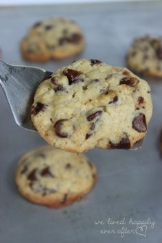 The Best Recipe, Tips & Techniques for the YUMMIEST & Most Beautiful Chocolate Chip Cookies You Will Ever Have! | We Lived Happily Ever AfterWe Lived Happily Ever After