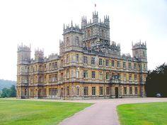 Highclere Castle, castelo na Inglaterra onde foi rodada a série 'Downton Abbey