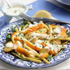 Warm Haddock Salad