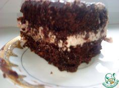 Шоколадный шифоновый бисквит - кулинарный рецепт