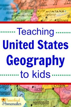 fdee4229a7 Teaching United States Geography to Kids