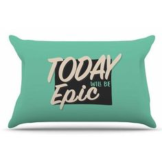 East Urban Home Epic Day by Juan Paolo Pillow Sham Size: