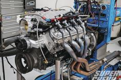 For part 2 of our 5.3L LS small block build we add some aggressive cams and nitrous to the 5.3L LM7 Truck Motor that is our LS Modern Mouse project. - Super Chevy Magazine