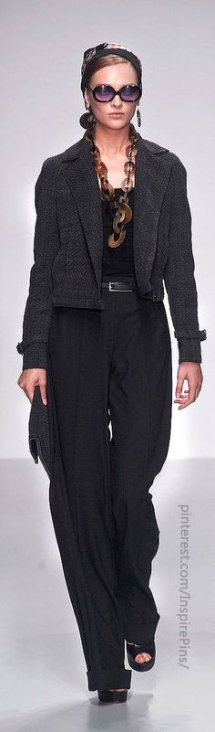 London Spring 2014 - Daks (somehow this does not look like 'SPRING' but who cares)