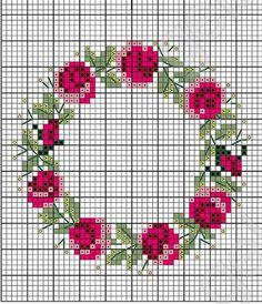 Cross Stitch Bookmarks, Cross Stitch Cards, Cross Stitch Borders, Simple Cross Stitch, Cross Stitch Rose, Modern Cross Stitch Patterns, Cross Stitch Designs, Cross Stitching, Cross Stitch Embroidery