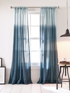 Ombre Curtain Panel from Up to 70% Off: Donna Karan Home Collections on Gilt