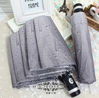Brand Umbrella , waterdrop design printed fabric . very nice