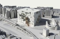 Gallery - Taipei Performing Arts Center proposal by NL Architects - 12