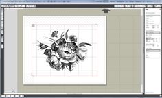 Scrap til your heart's content: Tutorial: How to print and cut Intricate images with the Silhouette Cameo