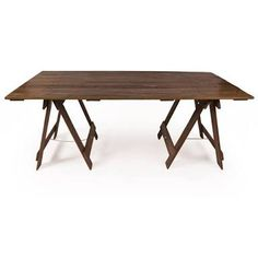 Image result for timber trestle table