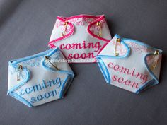 Pregnancy Reveal  Baby Announcement  Baby Shower by HandmadeBits4u