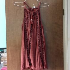 American Eagle Outfitters Dresses & Skirts - Small Red American Eagle Halter Dress
