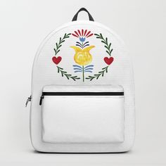 Buy Folk Backpack by unicornlette. Worldwide shipping available at Society6.com. Just one of millions of high quality products available.