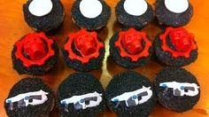 gears of war cupcakes