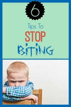 how to stop my kid from biting