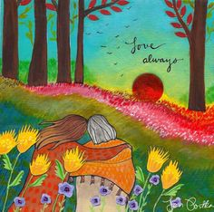 Yes. Print, Love Always by Lori Portka on Etsy