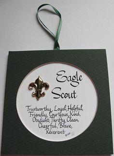 Eagle Scout Centerpieces | Eagle Scout ideas for E